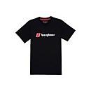 Unisex Heritage Front Logo T-Shirt - Black