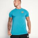 Men's Core Muscle Fit T-Shirt - Blue Coral