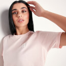 Women's Core Cropped T-Shirt - Chalk Pink