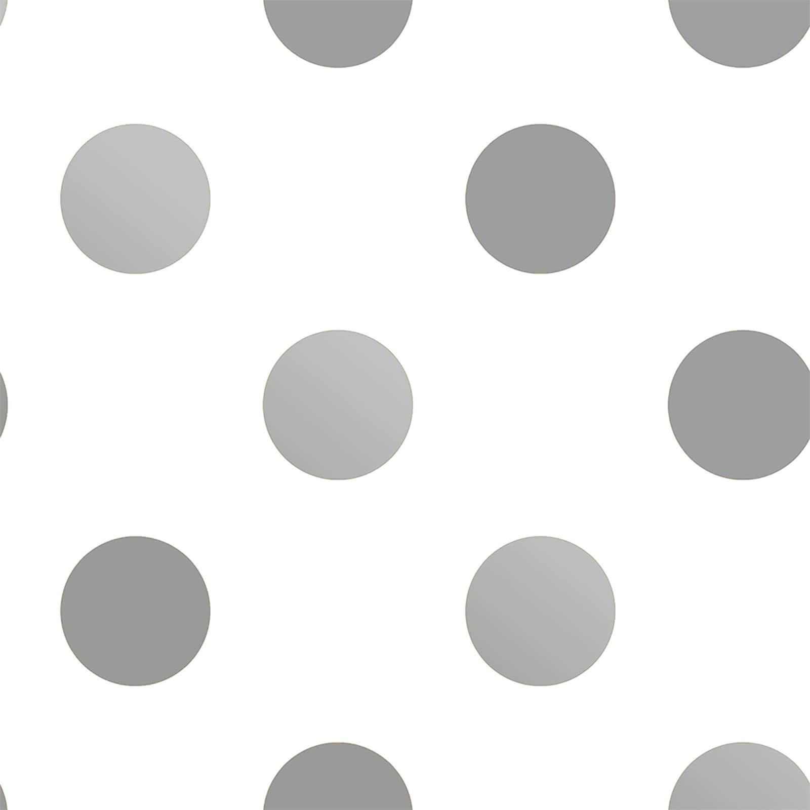 Superfresco Easy Silver Dotty Wallpaper ...