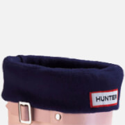 Hunter Unisex Fleece Welly Socks - Navy