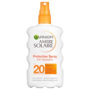 Солнцезащитный спрей «Идеальный Загар», SPF 20 Garnier Ambre Solaire Ultra-Hydrating Sun Cream Spray SPF 20 200 мл
