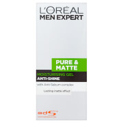 L'Oreal Men Expert Pure & Matte Anti-Shine Moisturising Gel 50 ml