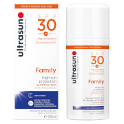 Ultrasun SPF 30 Family Sun Lotion (100ml)