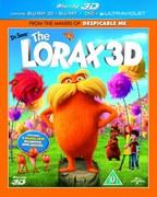 Dr. Seuss Lorax 3D (3D en 2D Blu-Ray, DVD en UltraViolet Copy)