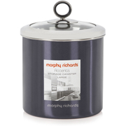Morphy Richards Accents Large Storage Canister - Black