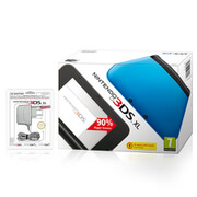Nintendo 3DS XL Blue (Black Interior)