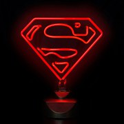 DC Comics Superman 30cm Breed Neonlicht
