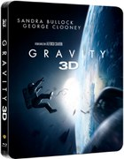 Gravity 3D - Limited Edition Steelbook (Includes 2D Version) (UK EDITION)