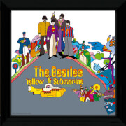 "The Beatles Yellow Submarine 2 - 12"""" x 12"""" Framed Album Prints"