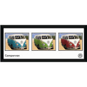 """VW Californian Camper Storyboard - 30"""""""" x 12"""""""" Framed Photographic"""