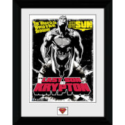 Superman Last Son of Krypton - 30 x 40cm Collector Prints
