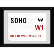 London Soho - 30 x 40cm Collector Prints
