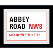 """Abbey Road - 8"""""""" x 6"""""""" Framed Photographic"""