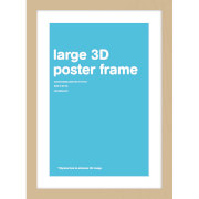 Oak Frame Lenticular - 47 x 67cm