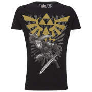 The Legend of Zelda with Link - T-Shirt - SIZE M
