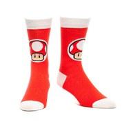 Super Mushroom - Crew Socks