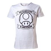 Mushroom Kingdom - T-Shirt (White)