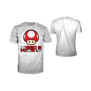 Mushroom - T-Shirt Men's (White)