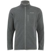 Columbia Men's Altitude Aspect Full Zip Fleece - Grey/Blue