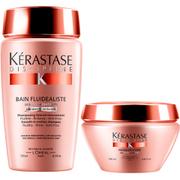 Kérastase Discipline Bain Fluidealiste Sulfur Free (250ml) og Maskeratine (200ml)