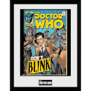 Doctor Who Weeping Angels Comic - 30x40 Collector Prints