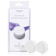Magnitone London Silk Bliss Replacement Brush Heads with SkinKind™ Bristles (Set of 2)