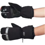 Northwave Husky Lobster Long Finger Gloves - Black/Grey