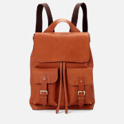 Aspinal of London Men's Shadow Rucksack - Tan