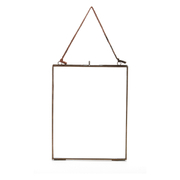 Nkuku Kiko Glass Frame - Antique Copper - Portrait 8