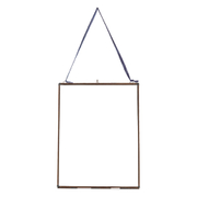 "Nkuku Extra Large Kiko Glass Frame - Antique Copper - Portrait 11"" x 14"" (36 x 29cm)"