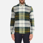 Barbour Men's Johnny Original Tartan Long Sleeve Shirt - Ancient