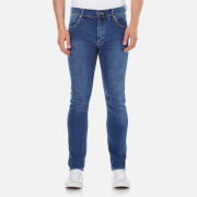 Cheap Monday Men's 'Tight' Skinny-Fit Jeans - Base Dark Blue