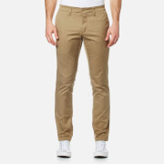 Carhartt Men's Sid Slim Leg Chinos - Leather Rinsed