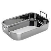 Le Creuset 3-Ply Stainless Steel Rectangular Roaster - 35cm