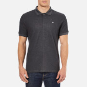 J.Lindeberg Men's Rubi Slim Fit Polo Shirt - Dark Grey Melange