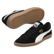 Puma Men's Brasil Football Vintage Trainers - Black/Grey