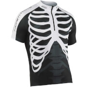 Northwave Men's Skeleton Short Sleeve Jersey - Black/White