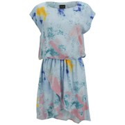 VILA Women's Splash Dress - Starlight Blue