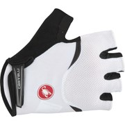 Castelli Arenberg Gel Gloves - White/Black