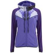 Myprotein Naisten Printed Panel Zip Through Hoody - Violetti