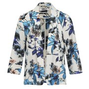 ONLY Women's Lara Floral Jacket - Cloud Dancer
