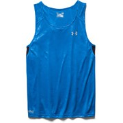 Under Armour Men's Coldblack Running Singlet - Blue Jet/Black/Reflective
