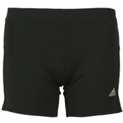 adidas Response Women's Short Tights - Black/Flash Orange