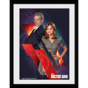 Doctor Who Clara and Doctor - 16x12 Framed Photographic
