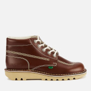 Bottines en Cuir Homme Kickers Kick Hi -Brun