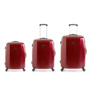 Redland '60TWO Collection' Hardsided Trolley Suitcase Set - Red - 75/65/55cm (3 Piece)