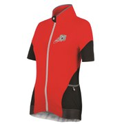 Santini Mearsey Women's Short Sleeve Jersey - Azure Red