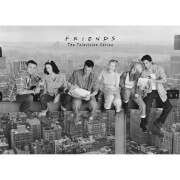 Friends on Girder - Giant Poster - 100 x 140cm