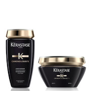 Kérastase Chronologiste Revitalising Shampoo and Masque Duo.